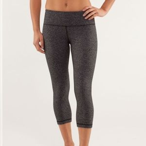 Lululemon Wunder under cut leggings